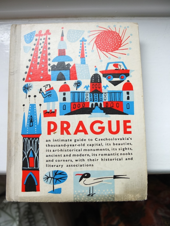 Prague guidebook cover