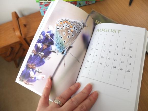 Diary inside