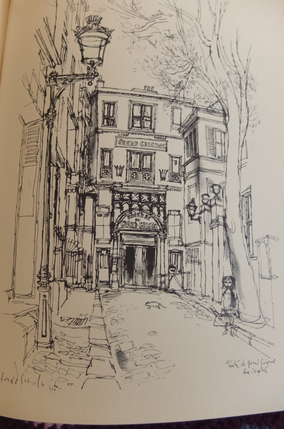 Paris Sketchbook – Ronald Searle and Kaye Webb