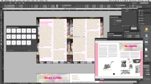 Adobe InDesign fixed format export